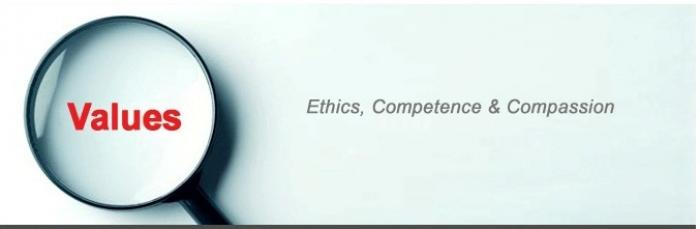 Ethics, Competence & Compassion Banner