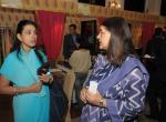 Indiritta Singh D'mello & Smt. Maneka Gandhi - Hospital Guide show at Royal Fables